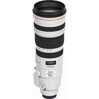Canon EF 200-400mm f/4L IS USM Lens with Internal 1.4x Extender