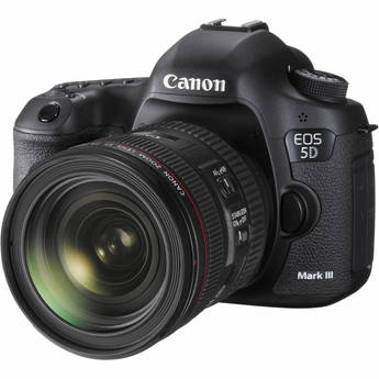 Canon EOS 5D Mark III DSLR Camera Kit with Canon EF 24-70mm f/4L IS USM Lens
