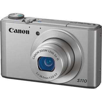 Canon PowerShot S110 Digital Camera (Silver)