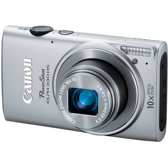 Canon PowerShot ELPH 330 HS Digital Camera (Silver)