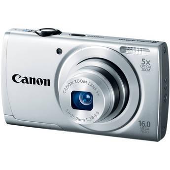 Canon PowerShot A2500 Digital Camera (Silver)