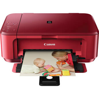 Canon PIXMA MG3520 Wireless Color All-in-One Inkjet Photo Printer (Red)