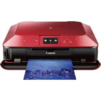 Canon PIXMA MG7120 Wireless Color All-in-One Inkjet Printer (Red)