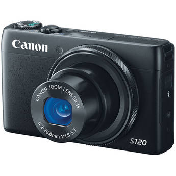 Canon Power Shot S120 Point-and-Shoot Camera
