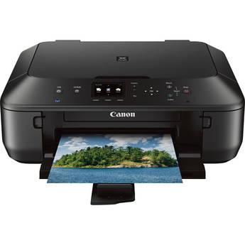 Canon PIXMA MG5520 Wireless Color All-in-One Inkjet Photo Printer (Black)