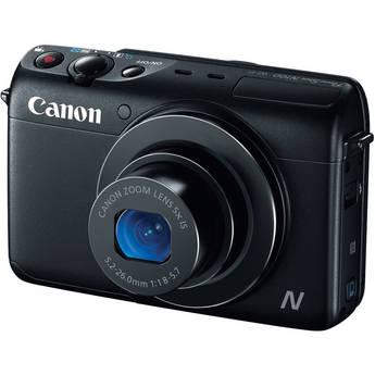 Canon PowerShot N100 Digital Camera (Black)
