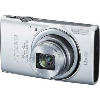 Canon PowerShot ELPH 340 HS Digital Camera (Silver)