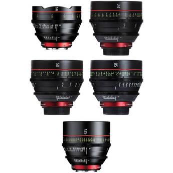 Canon Cinema Prime EF 5 Lens Promotion Kit