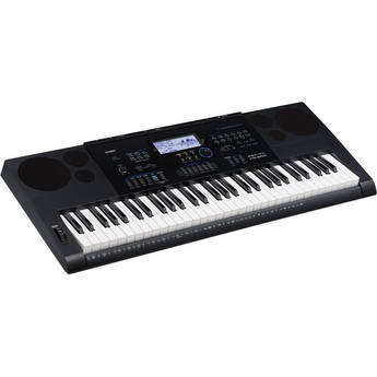 Casio CTK-6200 - Portable Keyboard with Sequencer and Mixer