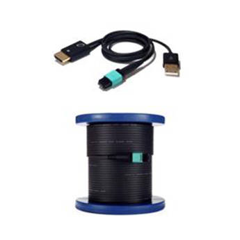 Celerity Technologies Universal Fiber Optic HDMI Cable with Detachable Connectors (50')