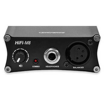 "CEntrance Inc. HiFi-M8 24-Bit 192 kHz Portable DAC Amp (4-Pin XLR, 1/4"" TRS, 1/8"" TRS)"