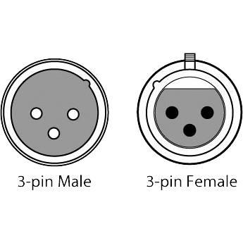 CHAUVET DJ 3-Pin DMX Cable (White, 25')