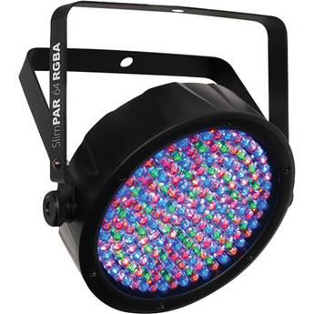 CHAUVET SlimPAR 64 RGBA LED PAR Wash Light with DMX Control
