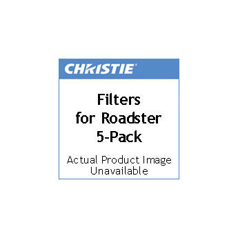 Christie Filter Kit for Roadster Series (5-Pack)