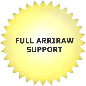 Cinedeck Comprehensive ArriRAW Support