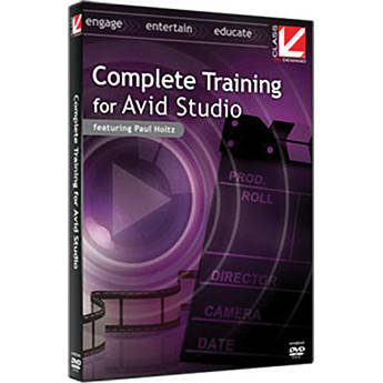 Class on Demand Video Download: Complete Training for Avid Studio
