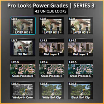 Class on Demand Training Video (Streaming On Demand): Pro Looks Power Grades for DaVinci Resolve/Lite Series 3