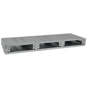 "COMNET C3 1RU 19"" Rack-Mountable Card Cage Unit (Silver)"