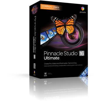 Corel Pinnacle Studio 16 Ultimate (Education Pricing)