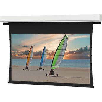 "Da-Lite Tensioned Advantage Deluxe 106""/HDTV - ALR 1.0 With Video Projector Interface"