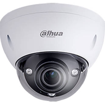 Dahua Technology 4MP WDR Weather-Resistant Vandal-Resistant IR Dome Network Camera with 2.7 to 12mm Varifocal Lens and Intelligent Video System