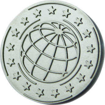 """DATACARD 0.9"""" Replacement Tacticle Impression Die (Global Design)"""