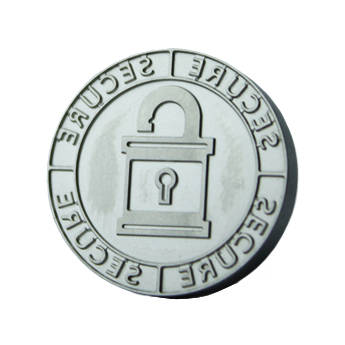 "DATACARD 0.9"" Replacement Tactile Impression Die (Secure Lock Design)"