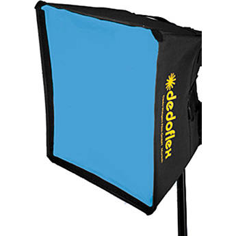 Dedolight Front Diffuser for Small Silver Dome Softbox (Half Blue)
