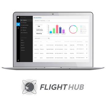 DJI FlightHub Basic Software for Managing Select Drones (1-Year)