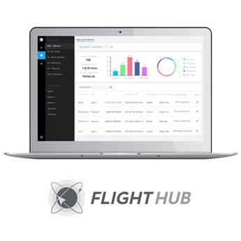 DJI FlightHub Advanced Software for Managing Select Drones (1 Month)