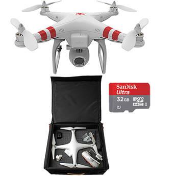 DJI Phantom 2 Vision Quadcopter with Backpack