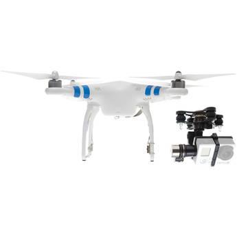 DJI Phantom 2 Quadcopter with Zenmuse H3-3D 3-Axis Gimbal