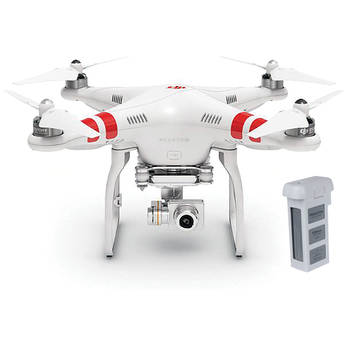 DJI Phantom 2 Vision+ v2.0 Quadcopter with Extra Battery Bundle