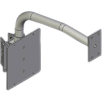Dotworkz BR-DPM1 Pole Mount Parapet Adapter