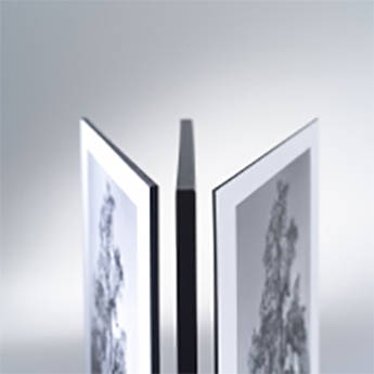 Drytac Matte Edge Foil for DES-1 & DES-3 Edge Finishing System (Silver, 20mm)