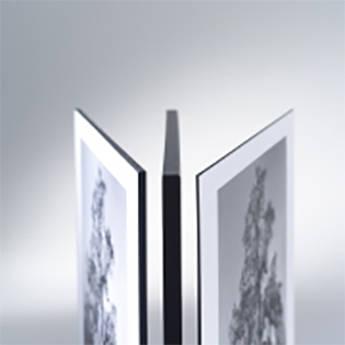 Drytac Matte Edge Foil for DES-1 & DES-3 Edge Finishing System (Silver, 32mm)