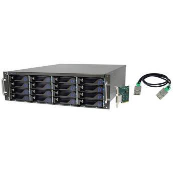 Dulce Systems 32TB (16 x 2TB) Pro RXe Hard Drive Array