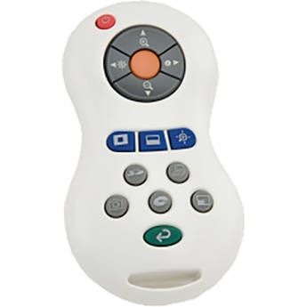 Elmo RC-VHY IR Replacement Remote Control for TT-12/TT-12i Camera (White)