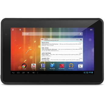 "Ematic 4GB Genesis Prime 7"" Multi-Touch Tablet (Black)"