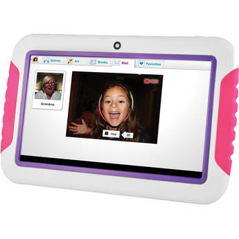 "Ematic 4GB FunTab 7"" Tablet for Kids (Pink & Purple)"