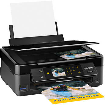 Epson Expression Home XP-410 Wireless Color Small-in-One Inkjet Printer