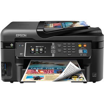 Epson WorkForce WF-3620 Wireless Color All-in-One Inkjet Printer