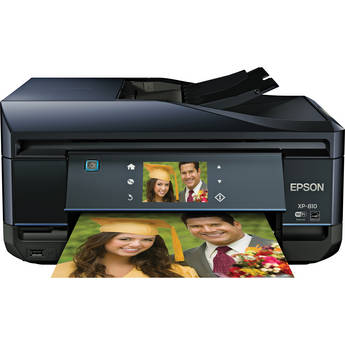 Epson Expression Premium XP-810 Wireless Color Small-in-One Inkjet Printer