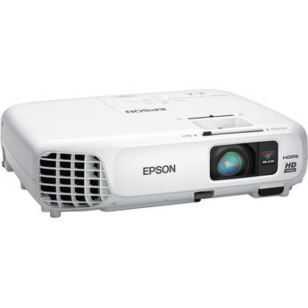 Epson PowerLite Home Cinema 730HD 720p 3LCD Projector (White)