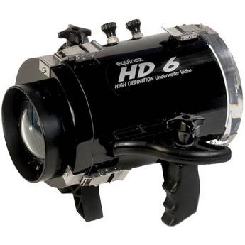 Equinox HD6 High Definition Underwater Video Housing for Canon VIXIA HF R300 Camcorder