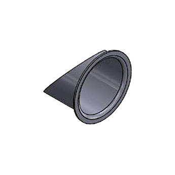ETC Half Hat for Source 4 Mini (Black)