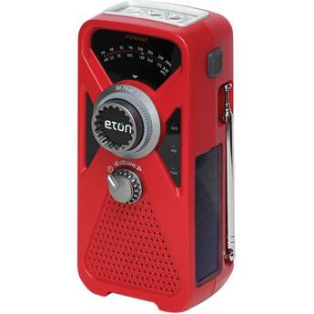Eton FRX2 Hand Turbine Radio with LED Flashlight and USB Smartphone Charger