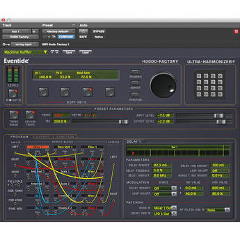 Eventide H3000 Factory Harmonizer Native - Effects Plug-In (Crossgrade)