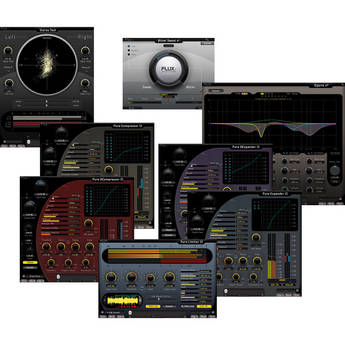 FLUX Recording Pack Plug-In Bundle (Native)