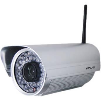 Foscam FI9805W H.264 1.3 MP 960p HD Outdoor Wireless IP Camera (Silver, NTSC & PAL)